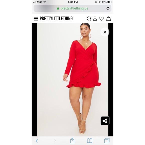 Plus Size Wrap Dress! NWT